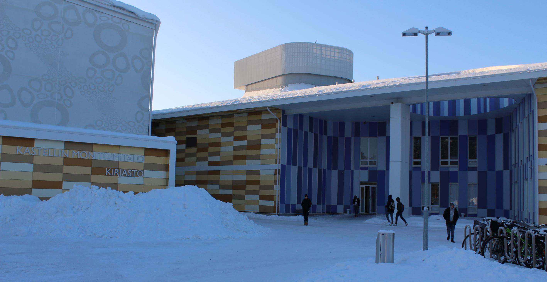 Kastellin monitoimitalo, Oulu