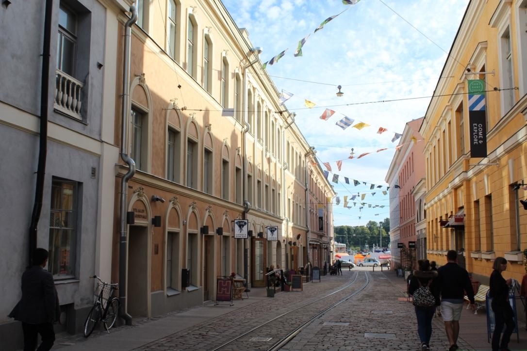 Valkoinen sali Helsingissä